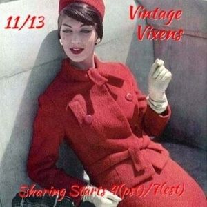 Accessories - FRIDAY 11/13 Vintage Vixens Sign Up Sheet